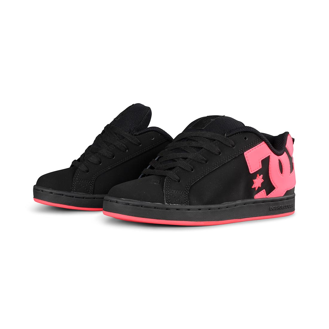 DC Shoes Women's Court Graffik - Black