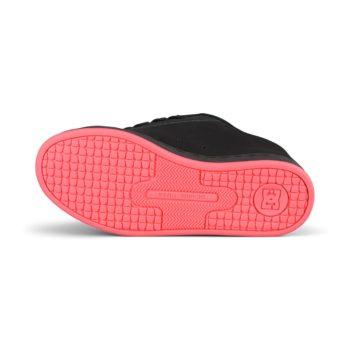 DC Shoes Women's Court Graffik – Black / Hot Pink