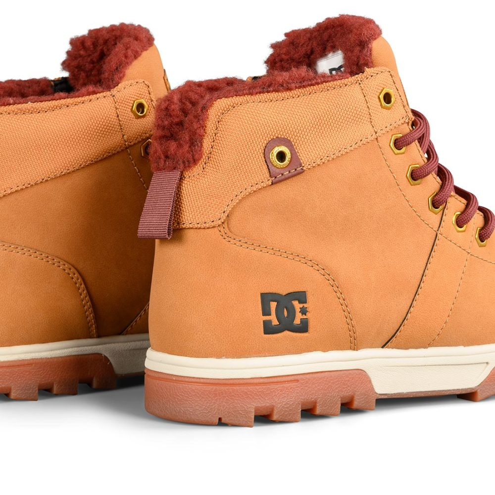 DC Shoes Woodland Boot – Brown / Brown / Brown