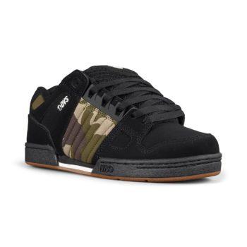 DVS Celsius Shoes - Black / Camo / Charcoal