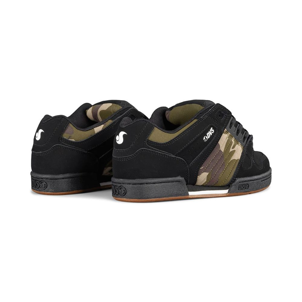 DVS Celsius Shoes - Black / Camo / Charcoal