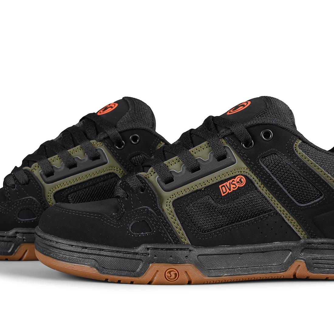 DVS Comanche Shoes - Black / Olive