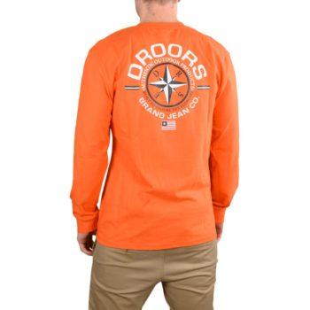 Droors Navigator L/S T-Shirt – Blazing Orange
