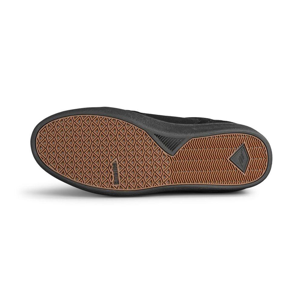 Emerica Figgy Dose Shoes - Black / Black / Gum