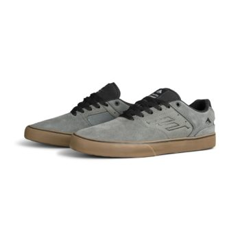 Emerica Reynolds Low Vulc Shoes - Grey / Black / Gum