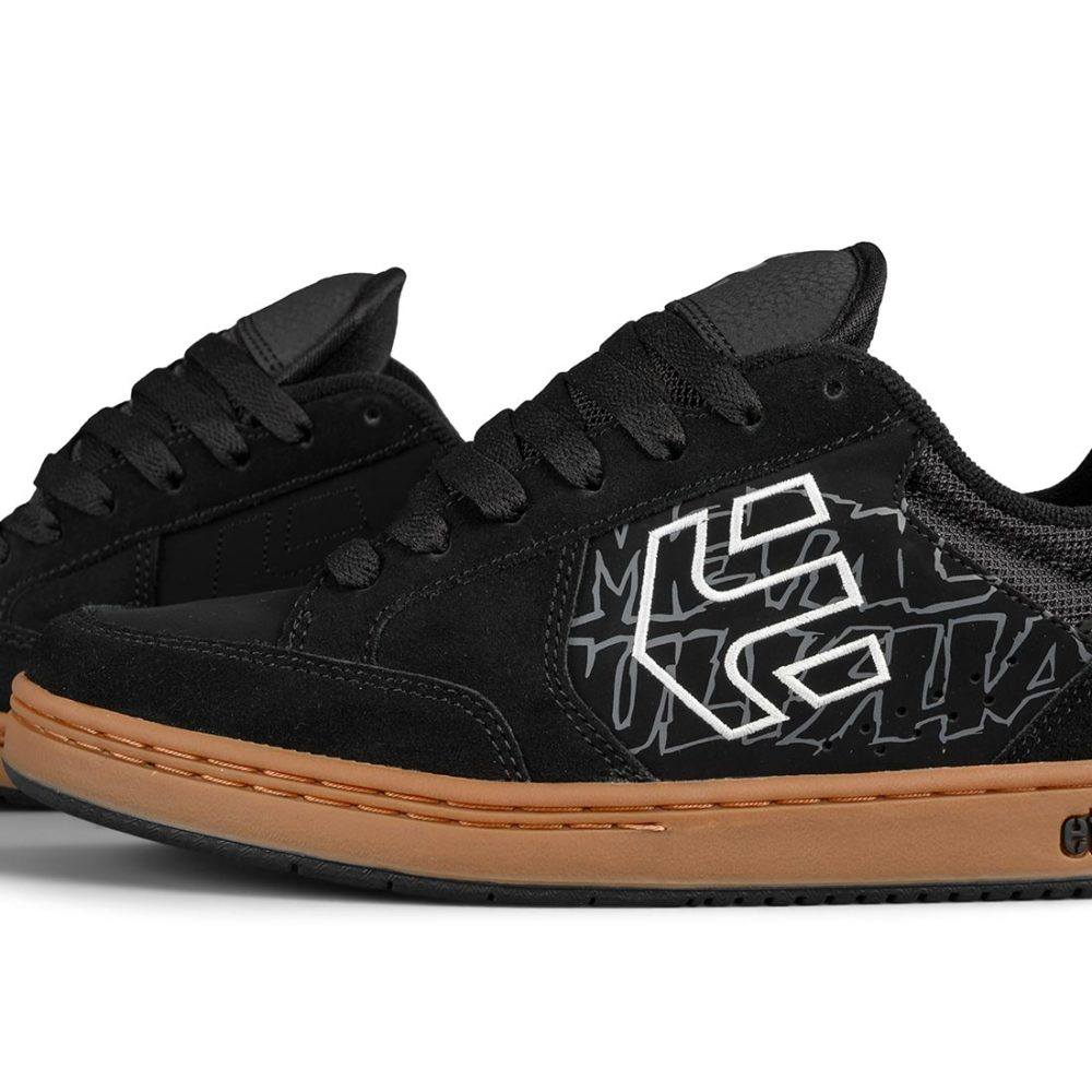 Etnies Metal Mulisha Swivel Shoes – Black / Gum