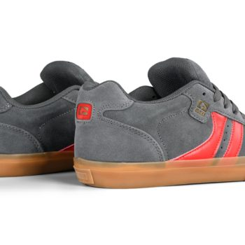 Globe Encore 2 Shoes – Charcoal / Gum / Red
