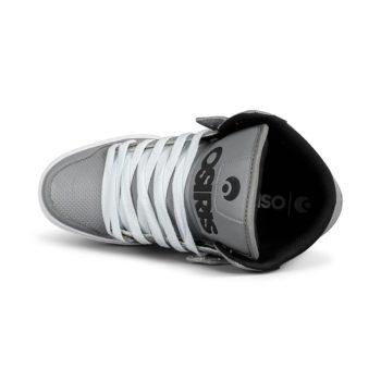 Osiris Clone High Top Shoes – Silver / White