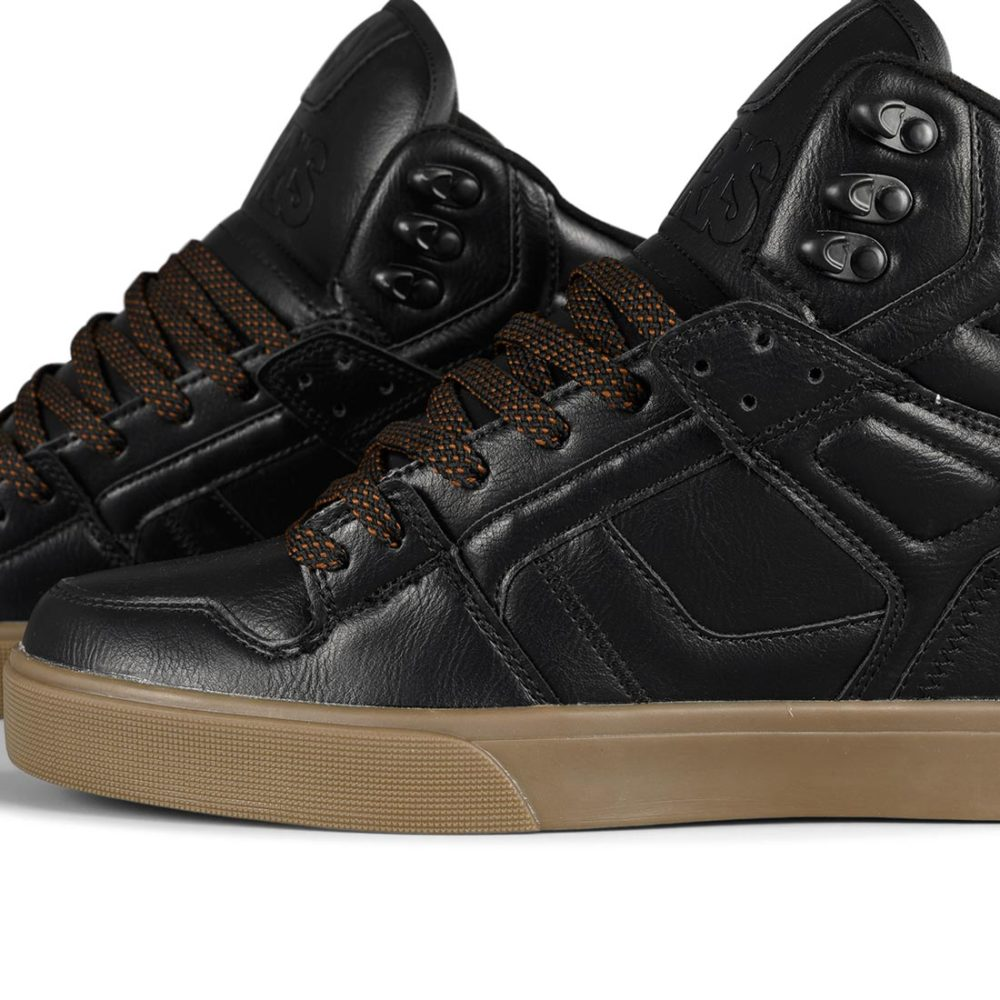 Osiris Clone High Top Shoes – Workwear / Black