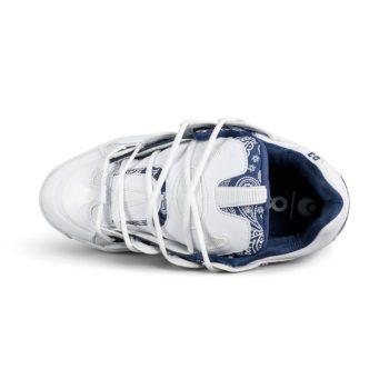Osiris D3 2001 Shoes – White / Navy / Westcoast