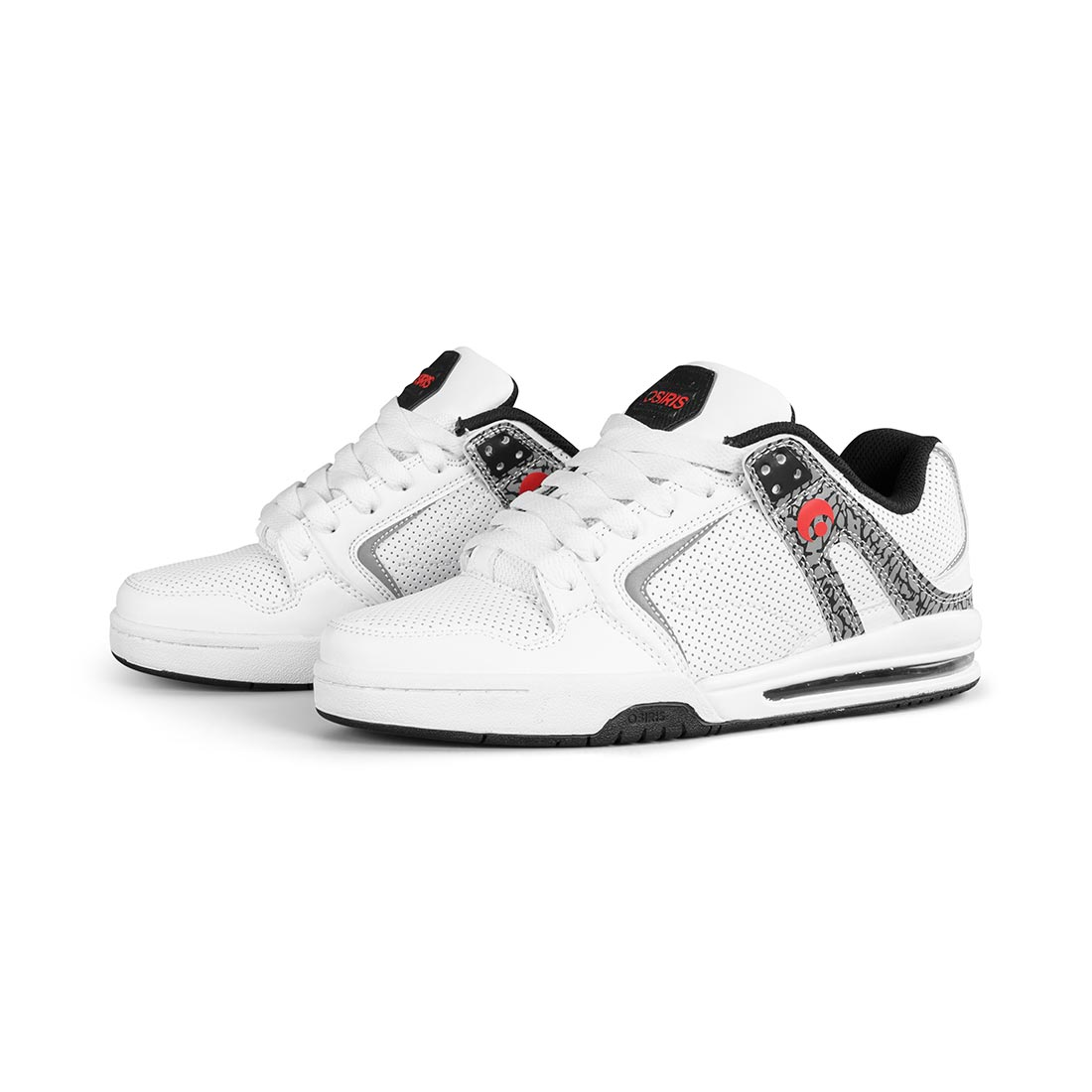 Osiris PXL Shoes - White / Red