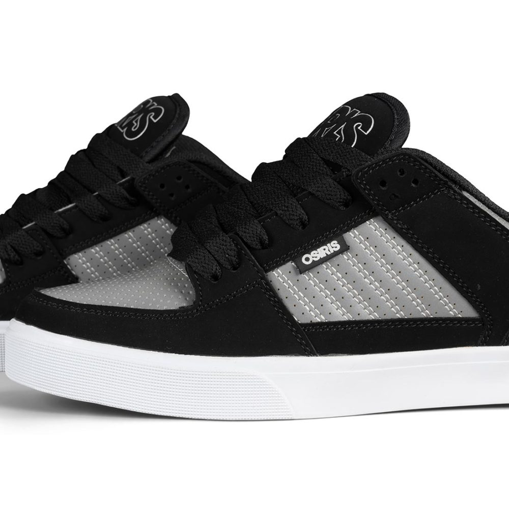 Osiris Protocol Shoes – Black / Ref / White