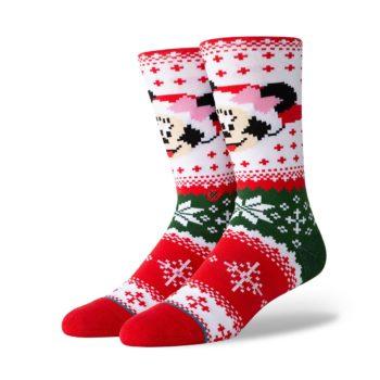 Stance Minnie Claus Crew Socks