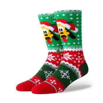 Stance Pluto Claus Crew Socks