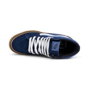 Vans Sk8-Hi Pro Shoes – Navy / Gum (Rainy Day)