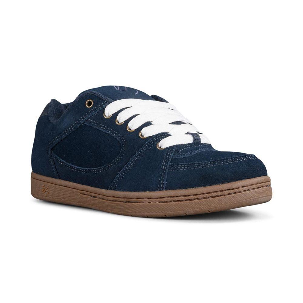 eS Accel OG Shoes - Navy / Gum / Gold