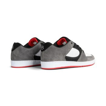 eS Accel Slim Shoes - Grey / White / Red