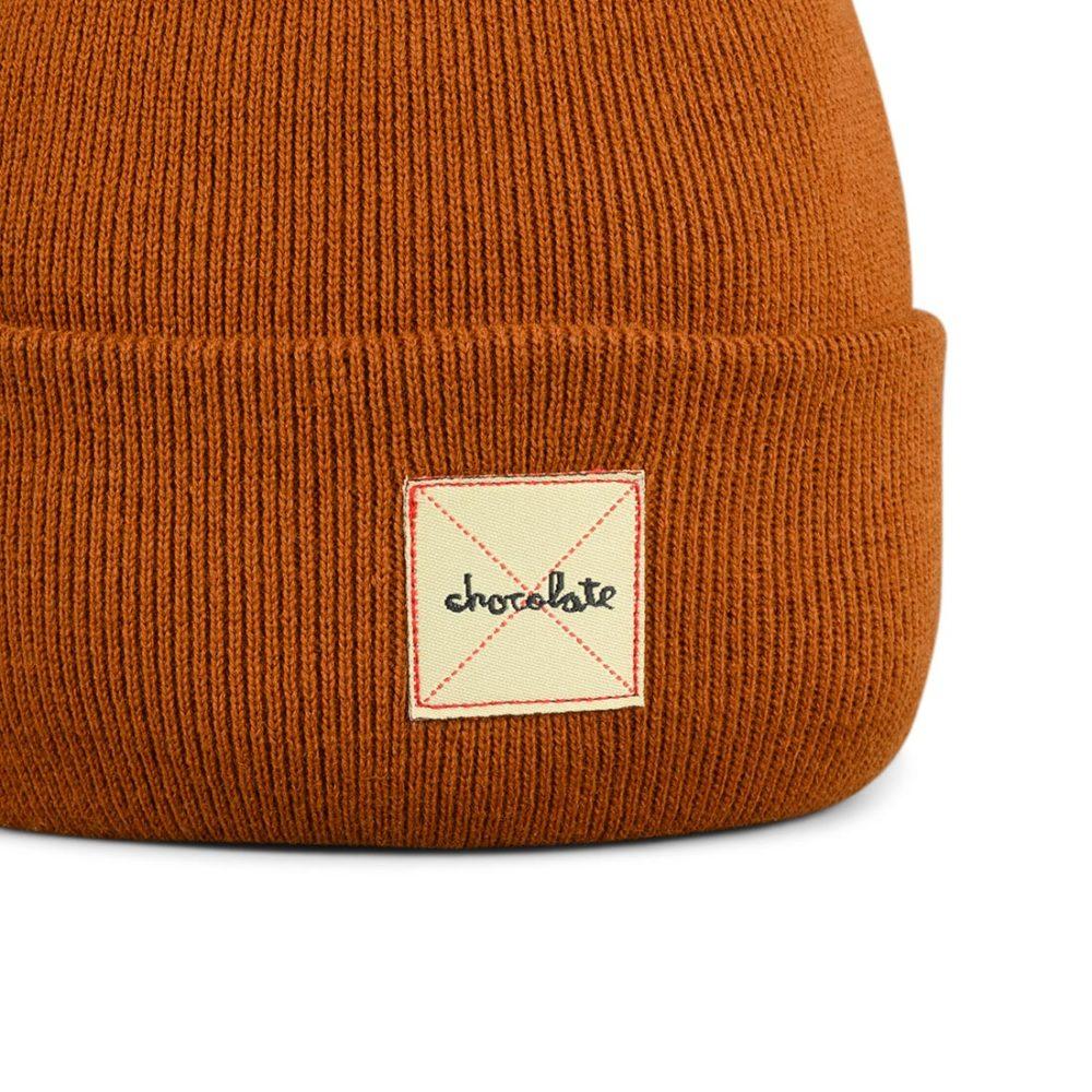 Chocolate Skateboards Work Beanie Hat – Brown