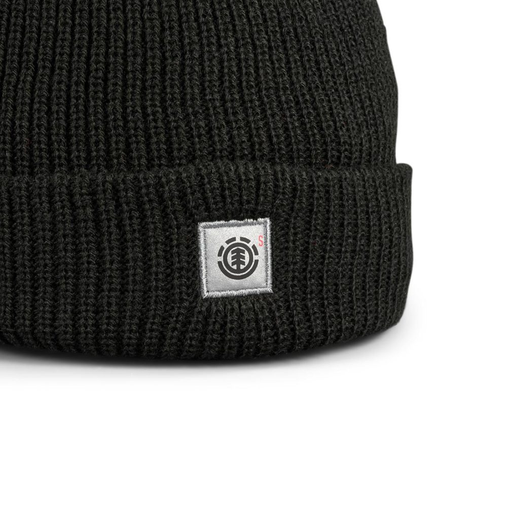 Element S Line Skully Beanie Hat - Idaho Black