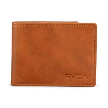 RVCA Crest Bifold Wallet – Tan