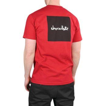 Chocolate Skateboards Square S/S T-Shirt – Cardinal