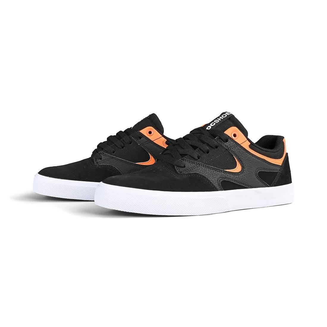 Dc shoes kalis vulc s black orange 2021 scarpe skate new 40 41 42 43