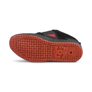 DC Shoes Lynx OG – Black / Dark Grey / Athletic Red