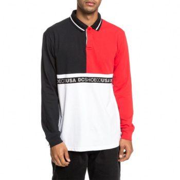 DC Shoes Walkley L/S Polo Shirt - Black