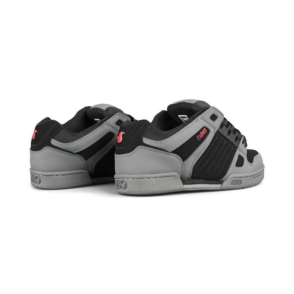DVS Celsius Shoes – Black / Charcoal / Red