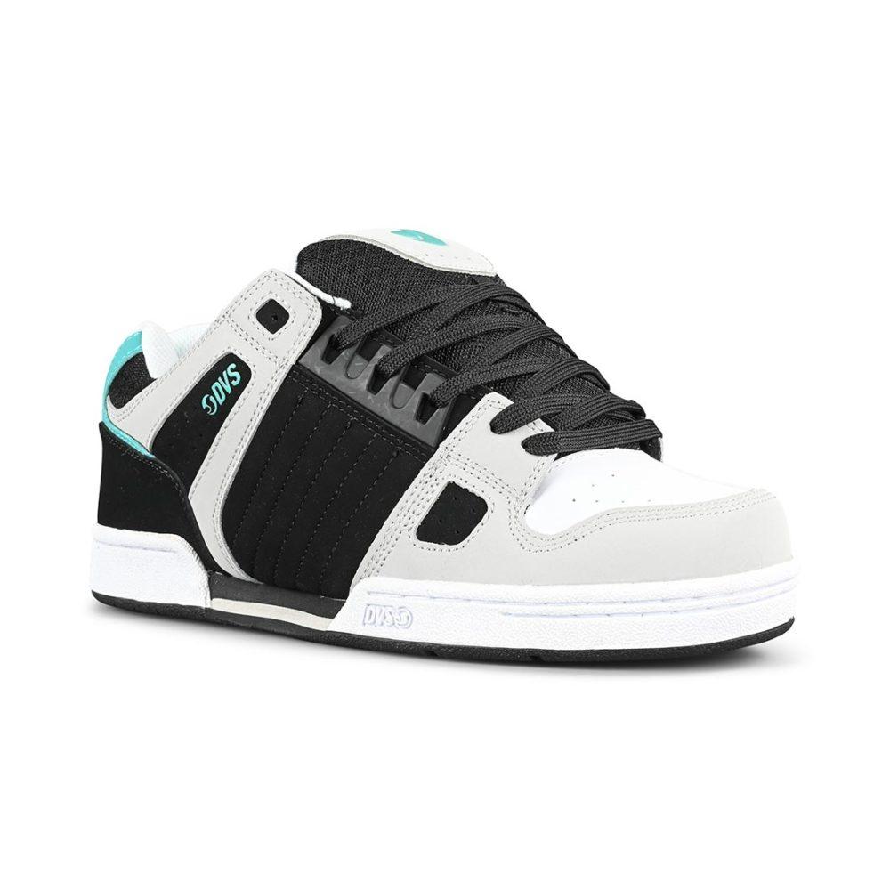 DVS Celsius Shoes – Black / Charcoal / White / Turquoise