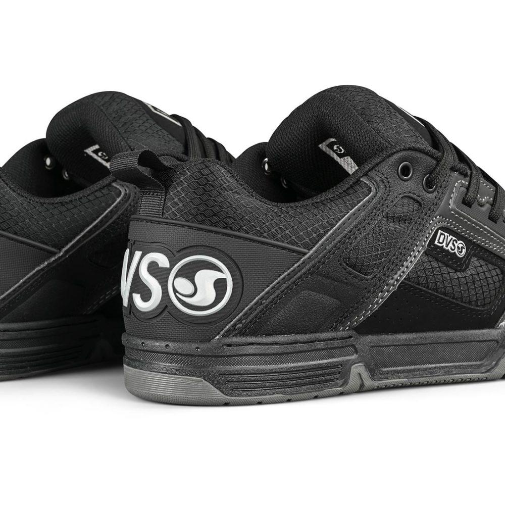 DVS Comanche Shoes - Black / Reflective / Charcoal