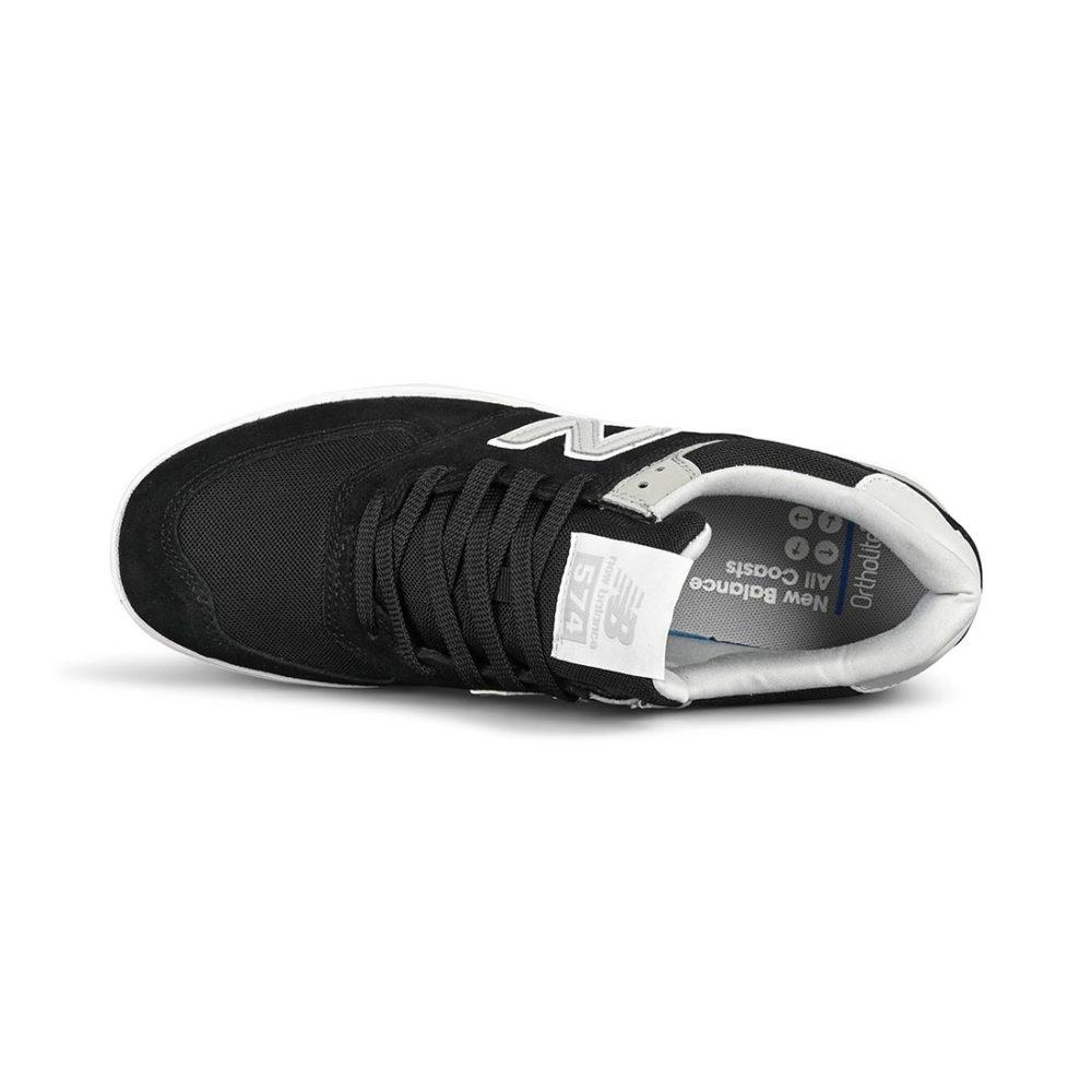 New Balance All Coasts 574 Shoes – Black / Grey (SS20)