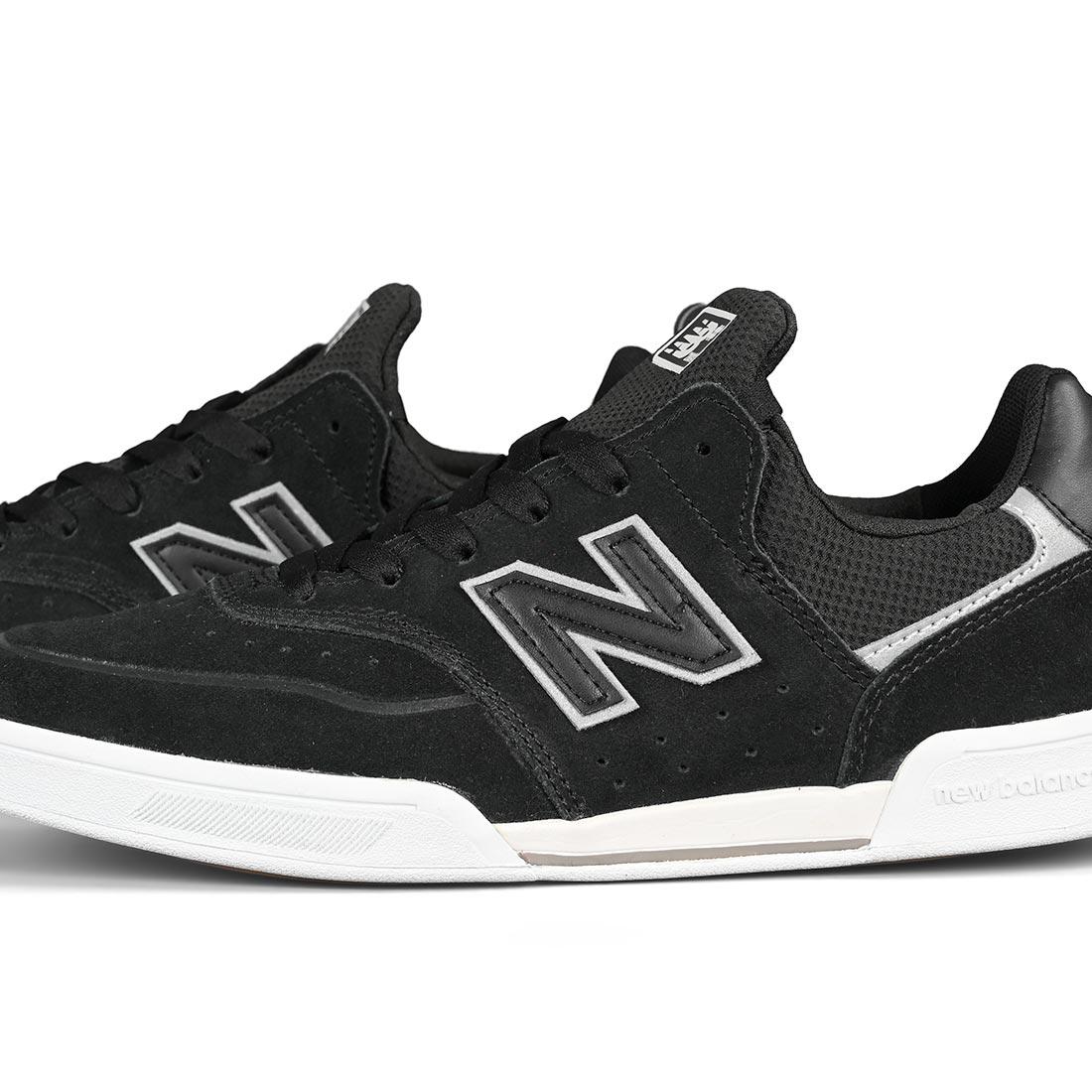 Marco Polo Cuatro Enciclopedia  New Balance Numeric 288 Shoes - Black / White | Supereight.net