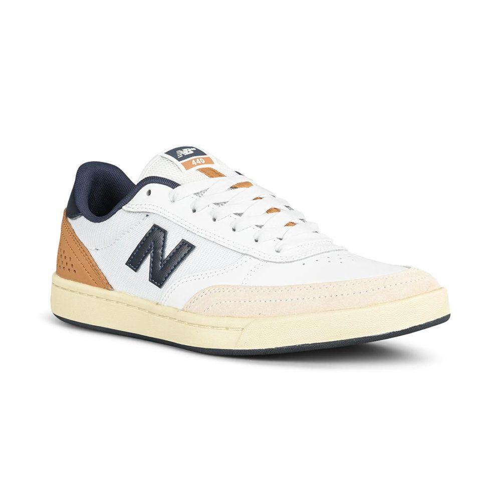 New Balance Numeric 440 Shoes – White / Navy