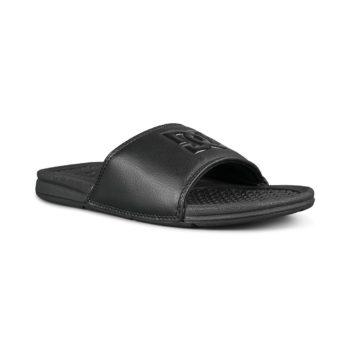 DC Shoes Bolsa Sandals – Black / Black / Black