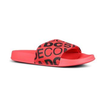 DC Shoes Slide SE Sandals – Red / Black