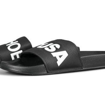 DC Shoes Slide Sandals – Black / White