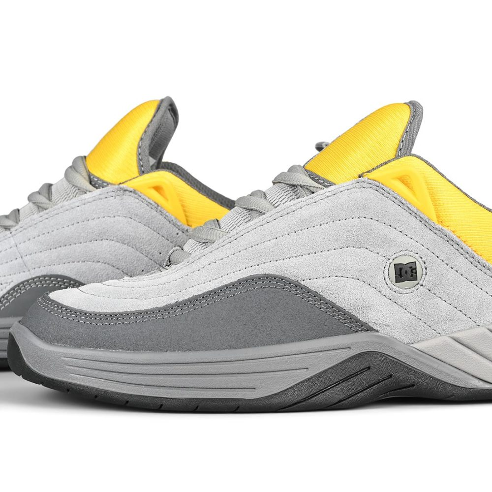 DC Shoes Williams Slim – Grey / Yellow