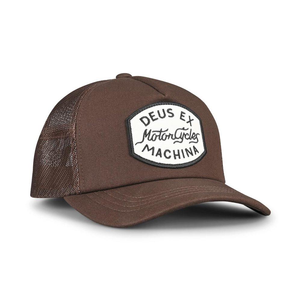 Deus Ex Machina Vrod Trucker Cap – Brown