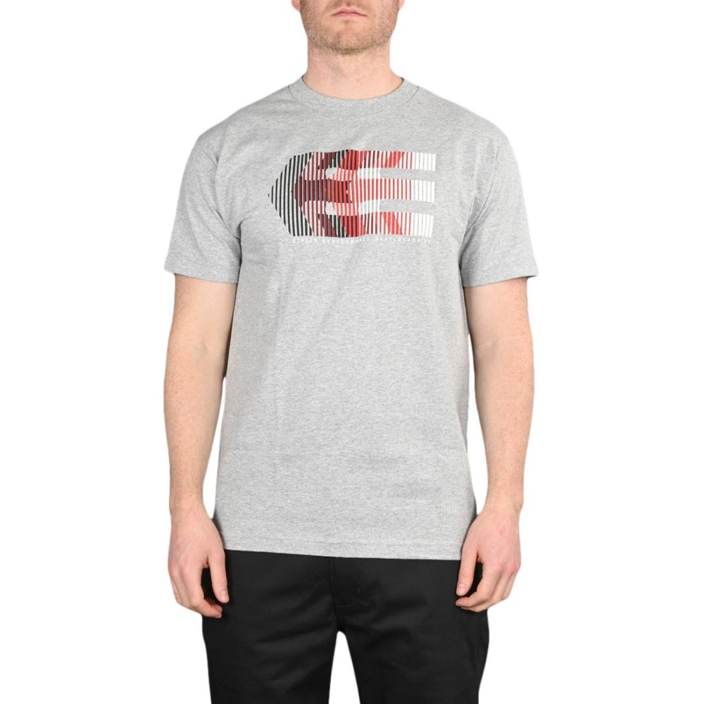 Etnies After Burn S/S T-Shirt – Grey / Heather