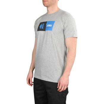 Etnies Eblock S/S T-Shirt – Grey / Heather