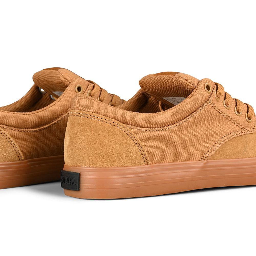 Supra Chino Shoes – Tan / Gum