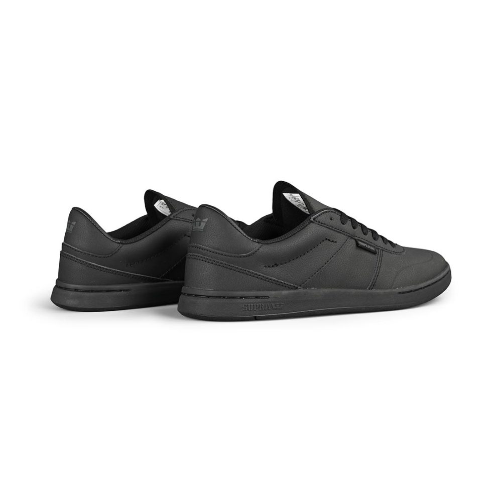 Supra Elevate Shoes – Black / Black