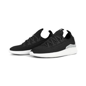 Supra Factor Shoes – Black / Lt Grey / White