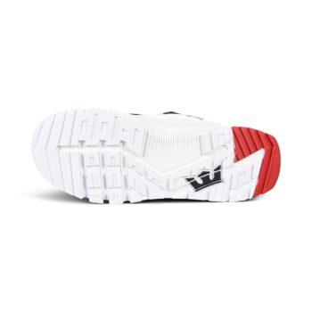 Supra Muska 2000 Shoes – White / Navy / Red / White