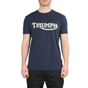 Triumph Fork Seal S/S T-Shirt – Indigo