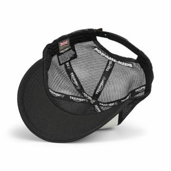 Triumph Kerosene Trucker Hat – Black / New Bone