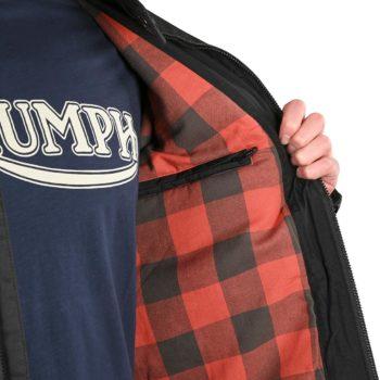 Triumph Kirk Waxed Cotton Jacket – Black