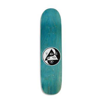 Welcome Tasmanian Angel On Bunyip 8″ Skateboard Deck – Black / Purple