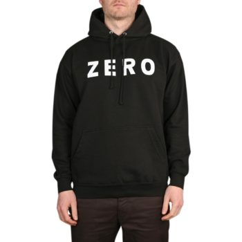 Zero Army Pullover Hoodie - Black